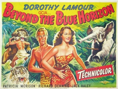BEYOND THE BLUE HORIZON(1942) FILM POSTER 3