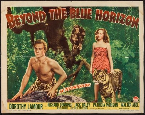 BEYOND THE BLUE HORIZON(1942) FILM POSTER 4