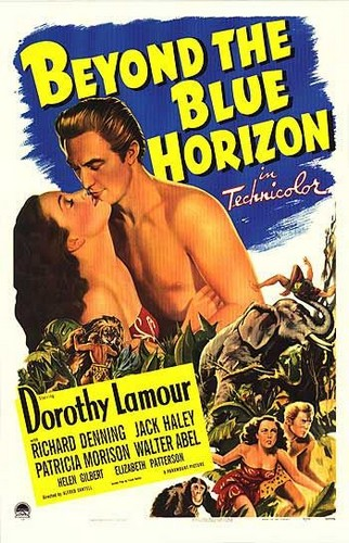 BEYOND THE BLUE HORIZON(1942) FILM POSTER 5