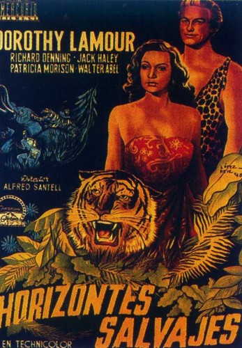 BEYOND THE BLUE HORIZON(1942) FILM POSTER 6
