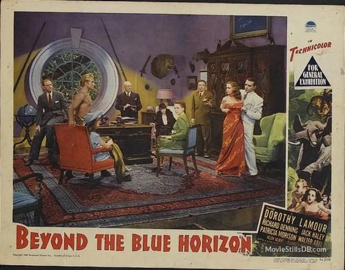 BEYOND THE BLUE HORIZON(1942) LOBBY CARD 2