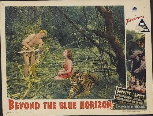 BEYOND THE BLUE HORIZON(1942) LOBBY CARD 3