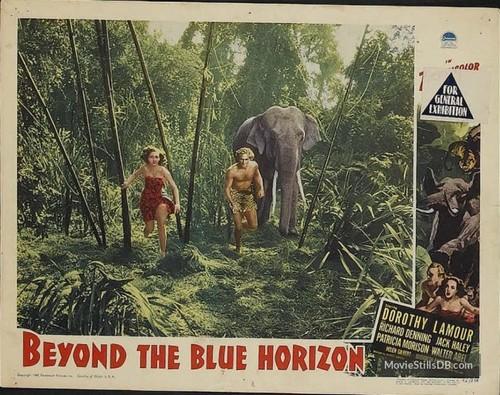 BEYOND THE BLUE HORIZON(1942) LOBBY CARD 4
