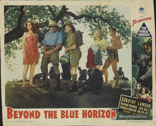BEYOND THE BLUE HORIZON(1942) LOBBY CARD 6
