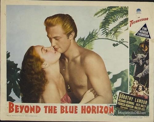 BEYOND THE BLUE HORIZON(1942) LOBBY CARD 7