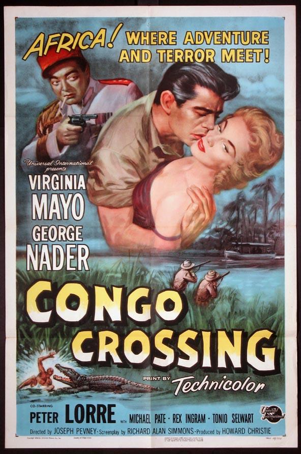 CONGO CROSSING(1956) FILM POSTER 1