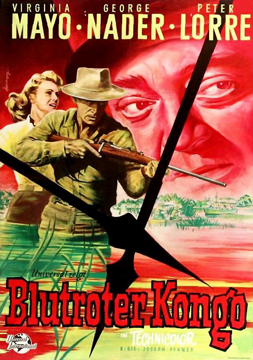 CONGO CROSSING(1956) FILM POSTER 10