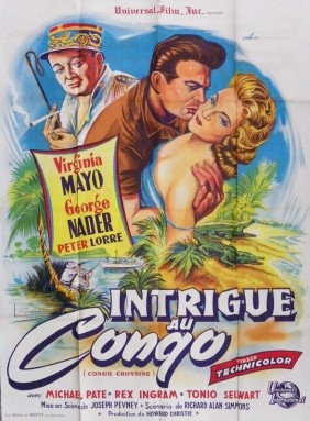 CONGO CROSSING(1956) FILM POSTER 3