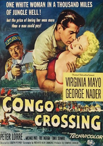 CONGO CROSSING(1956) FILM POSTER 4