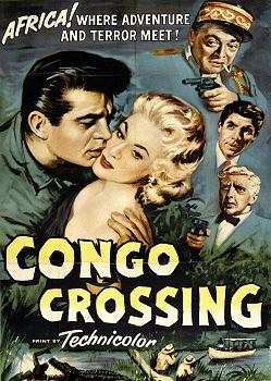 CONGO CROSSING(1956) FILM POSTER 7