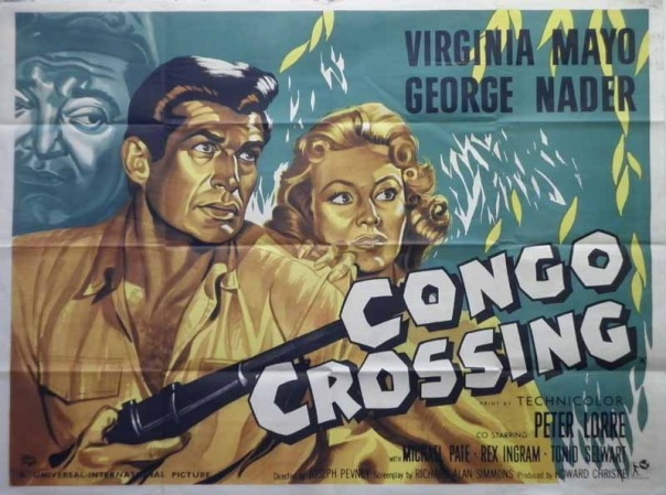 CONGO CROSSING(1956) FILM POSTER 8