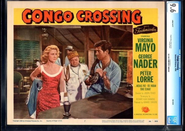 CONGO CROSSING(1956) LOBBY CARD 2