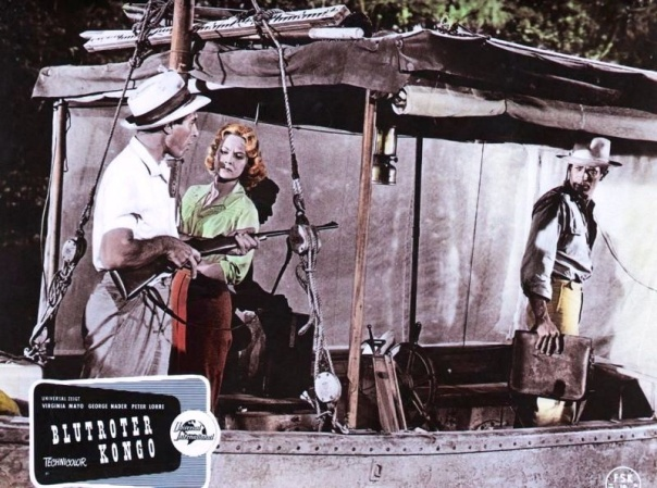 CONGO CROSSING(1956) LOBBY CARD 3