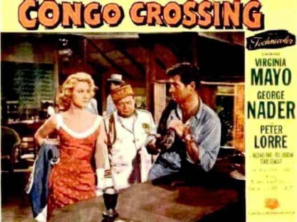 CONGO CROSSING(1956) LOBBY CARD 7