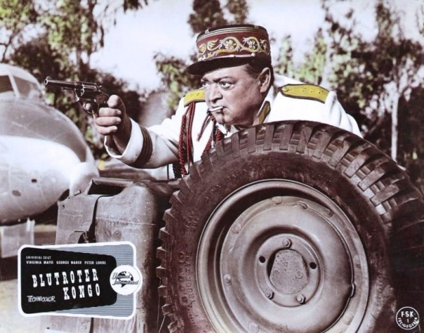 CONGO CROSSING(1956) LOBBY CARD 8
