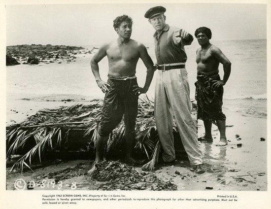 DRUMS OF TAHITI(1954)WINDOW CARD 2