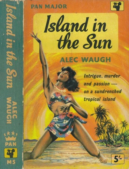 ISLAND IN THE SUN(1957) BOOK COVER