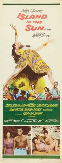 ISLAND IN THE SUN(1957) FILM POSTER 1