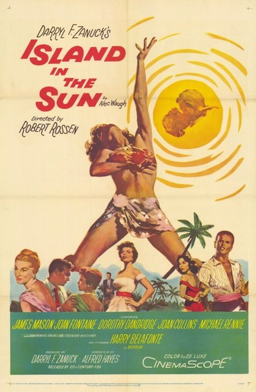 ISLAND IN THE SUN(1957) FILM POSTER 2