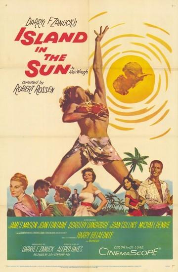 ISLAND IN THE SUN(1957) FILM POSTER 2