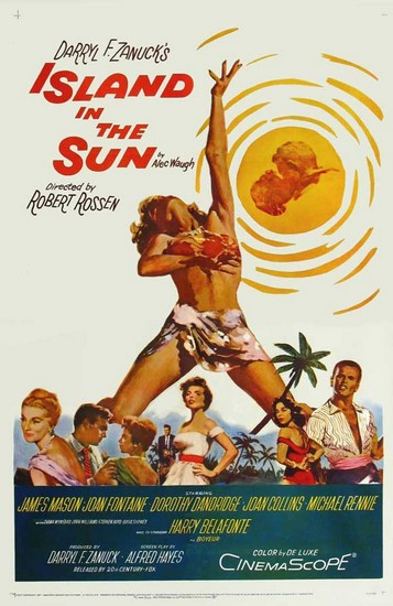 ISLAND IN THE SUN(1957) FILM POSTER 3