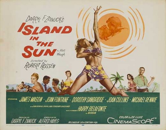 ISLAND IN THE SUN(1957) FILM POSTER 4
