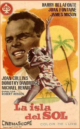 ISLAND IN THE SUN(1957) FILM POSTER 5