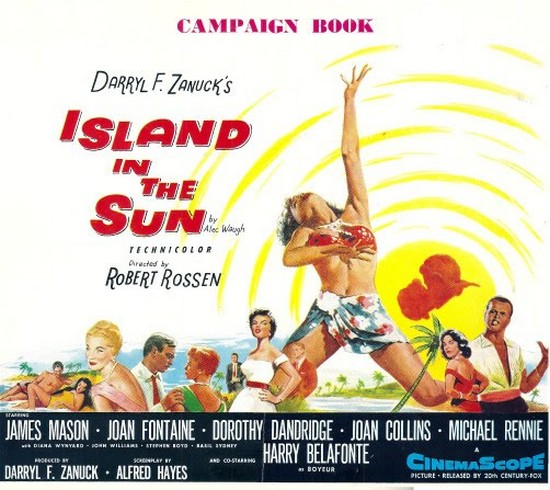 ISLAND IN THE SUN(1957) FILM POSTER 7