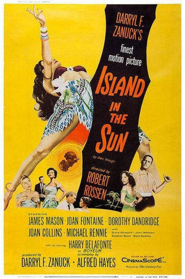 ISLAND IN THE SUN(1957) FILM POSTER 8