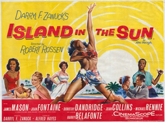 ISLAND IN THE SUN(1957) FILM POSTER 9