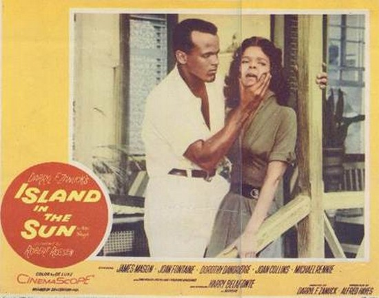 ISLAND IN THE SUN(1957) LOBBY CARD 2