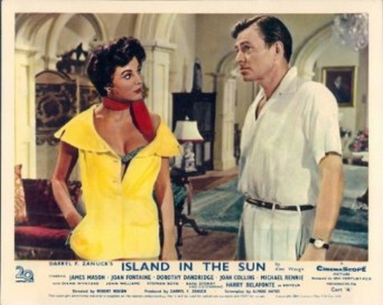 ISLAND IN THE SUN(1957) LOBBY CARD 3