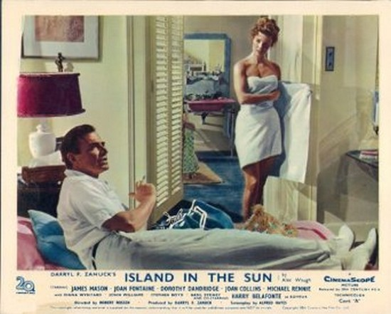 ISLAND IN THE SUN(1957) LOBBY CARD 4