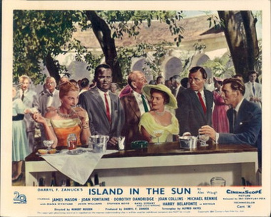 ISLAND IN THE SUN(1957) LOBBY CARD 5