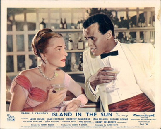 ISLAND IN THE SUN(1957) LOBBY CARD 6