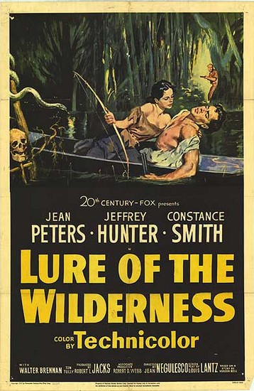 LURE OF THE WILDERNESS(1952) FILM POSTER 1