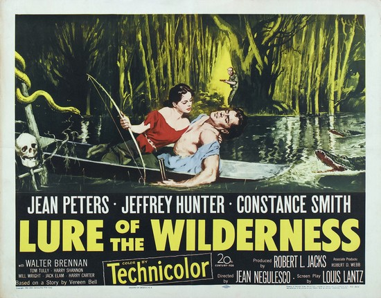 LURE OF THE WILDERNESS(1952) FILM POSTER 2