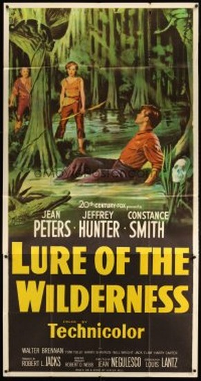 LURE OF THE WILDERNESS(1952) FILM POSTER 5