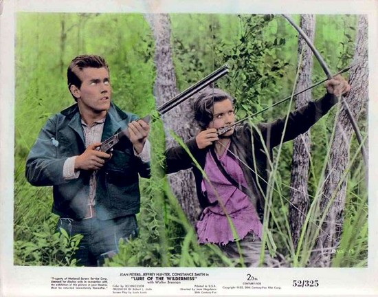 LURE OF THE WILDERNESS(1952) LOBBY CARD 2