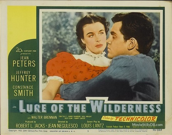 LURE OF THE WILDERNESS(1952) LOBBY CARD 4