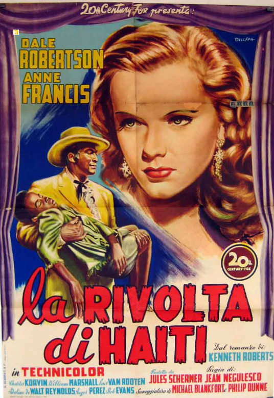 LYDIA BAILEY(1952) FILM POSTER 11