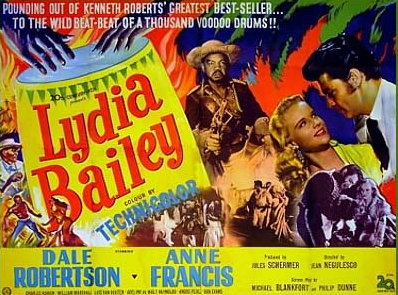 LYDIA BAILEY(1952) FILM POSTER 4