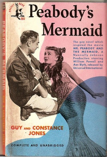 MR PEABODY & THE MERMAID(1948) BOOK COVER