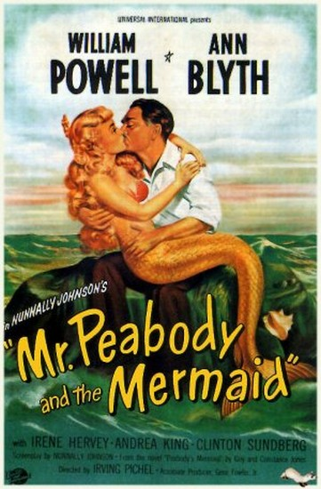 MR PEABODY & THE MERMAID(1948) FILM POSTER 6