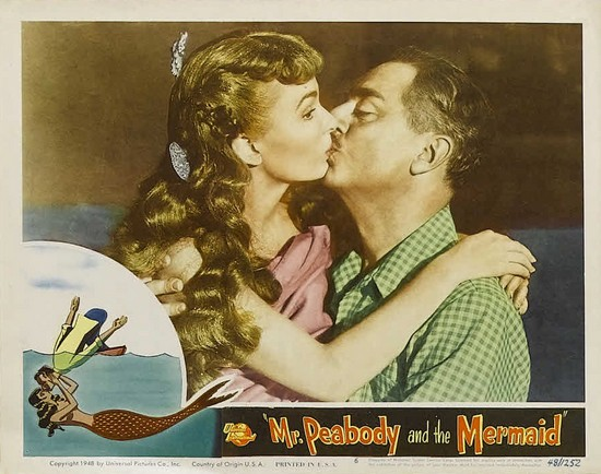 MR PEABODY & THE MERMAID(1948) LOBBY CARD 2