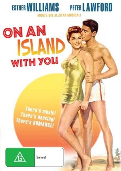 ON AN ISLAND WITH YOU(1948) DVD COVER 2