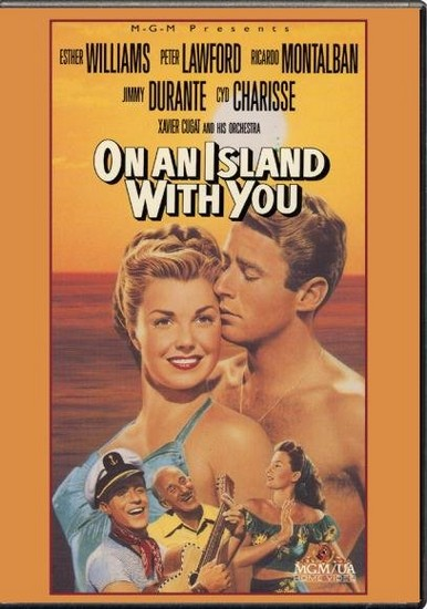 ON AN ISLAND WITH YOU(1948) DVD COVER