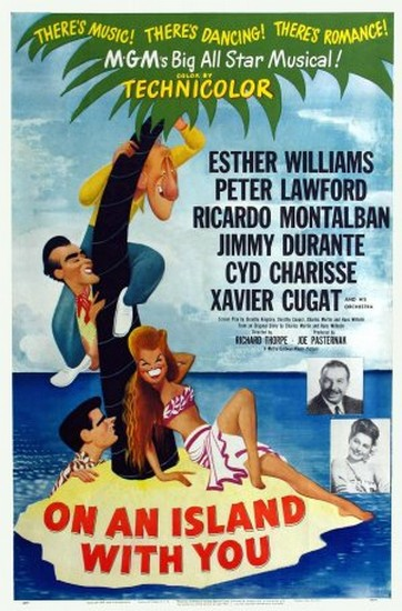 ON AN ISLAND WITH YOU(1948) FILM POSTER 1