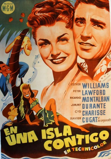 ON AN ISLAND WITH YOU(1948) FILM POSTER 13