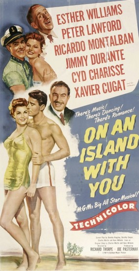 ON AN ISLAND WITH YOU(1948) FILM POSTER 2